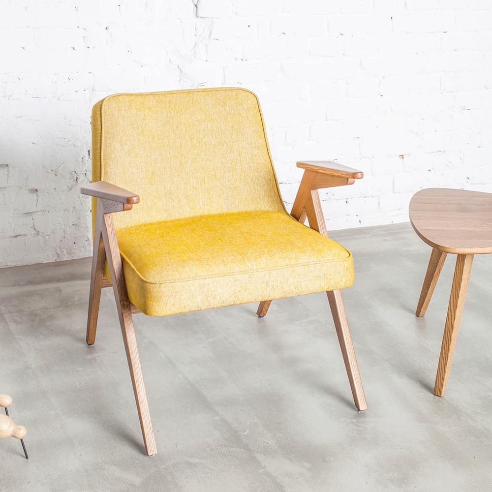 Bunny armchair Loft mustard 366 Concept