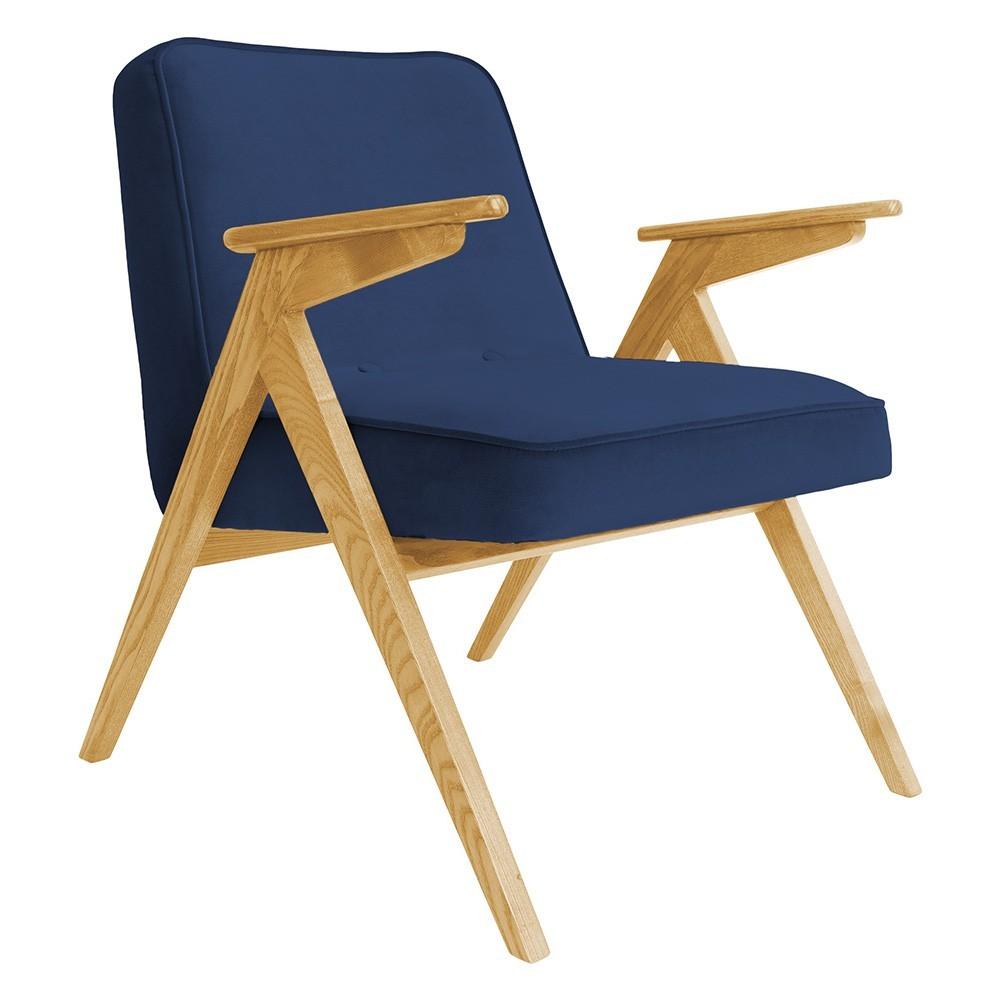 Bunny armchair Velvet indigo 366 Concept