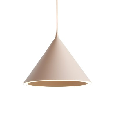 Ringvormige hanglamp nude Woud