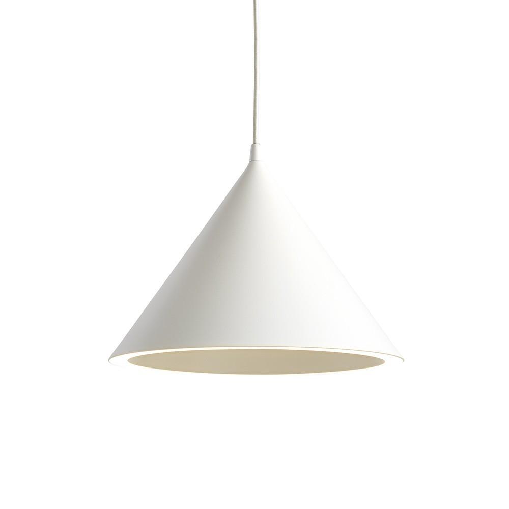 Annular pendant white Woud