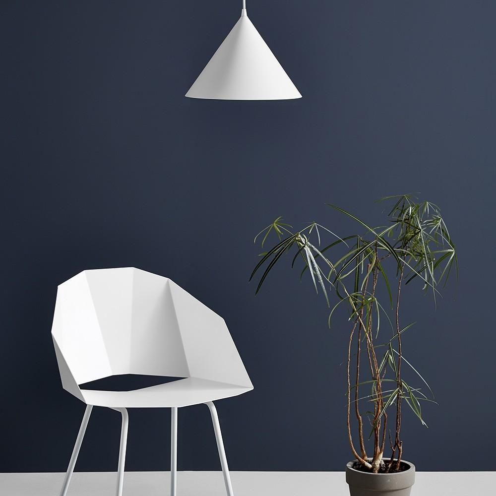 Ringvormige hanglamp wit Woud