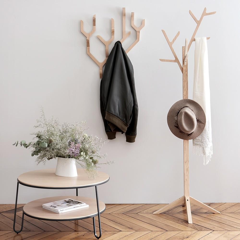 Ambroise wall coat rack Hartô