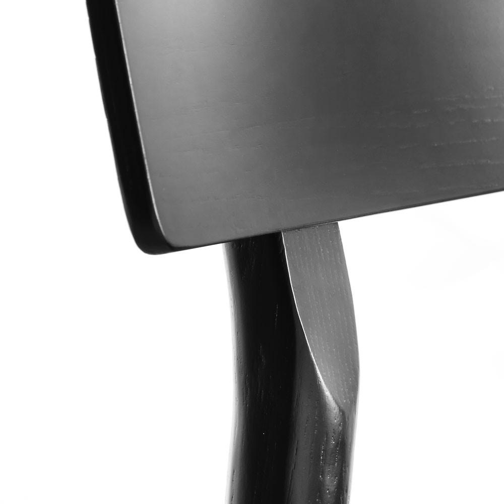Pause 2.0 dining chair black painted oak Woud