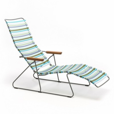 Chaise longue Click multicolore 2