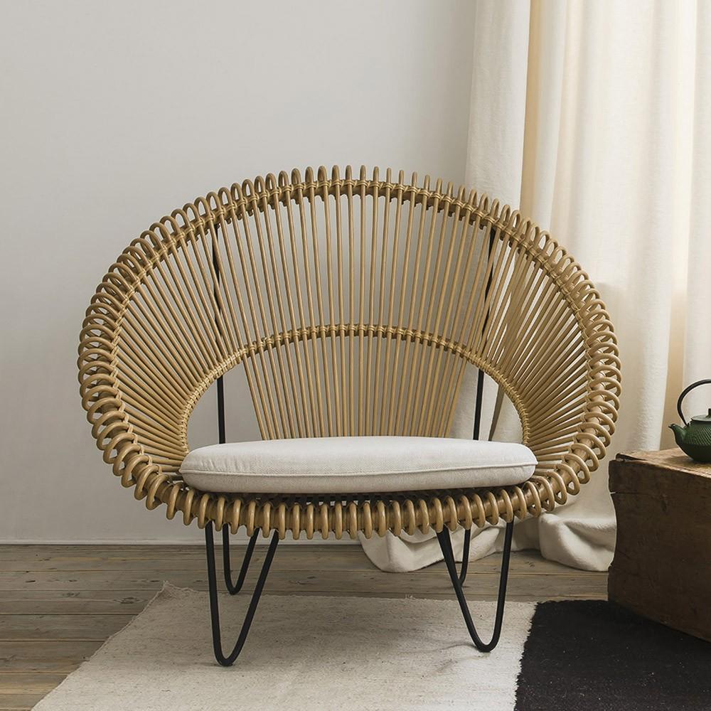 Cruz Cocoon fauteuil naturel Vincent Sheppard