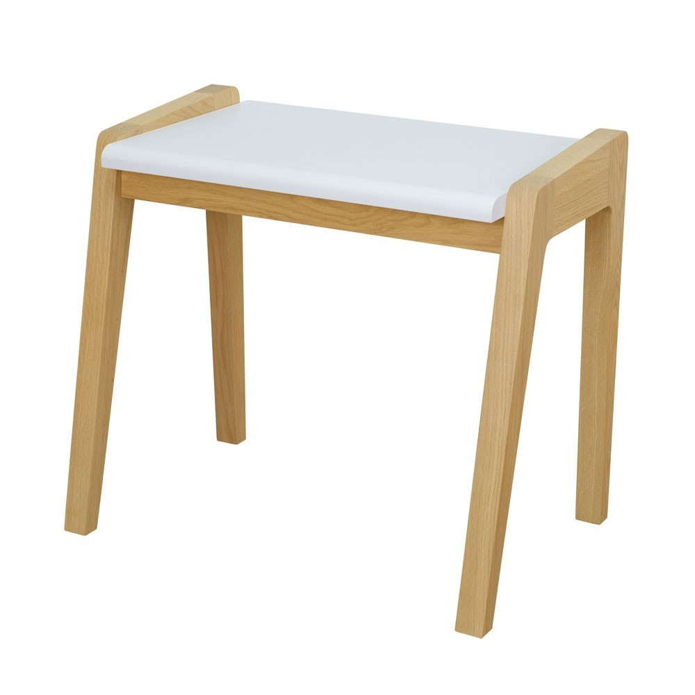 My great pupitre stool white Jungle by Jungle