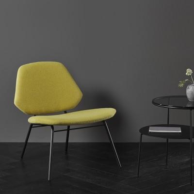 Lean fauteuil geel Woud