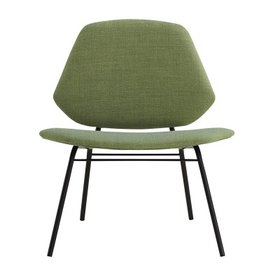 Lounge chair Lean green Woud