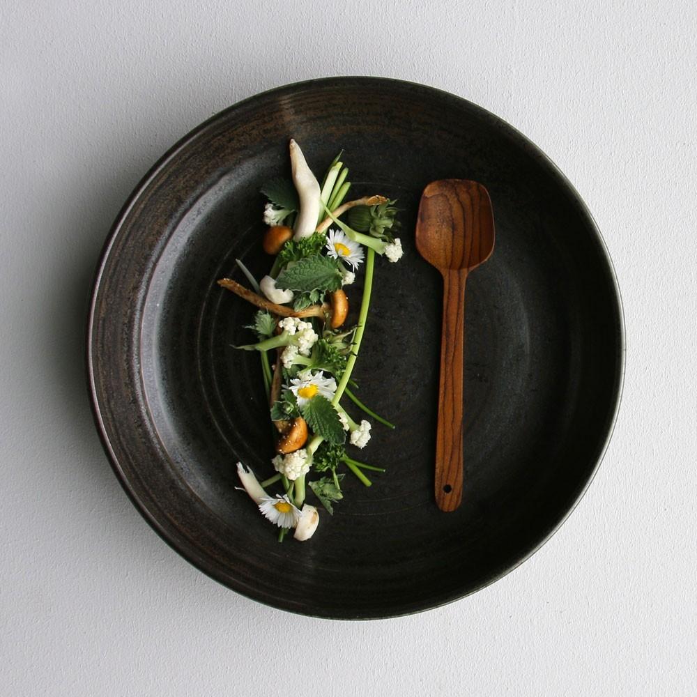 Kyoto rustiek bord Ø21,5 cm (set van 4) HKliving