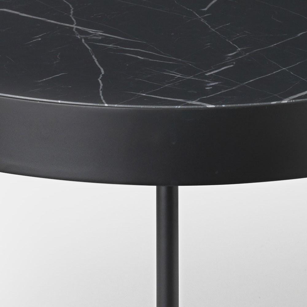 Table basse Marble noir marquina M Ferm Living