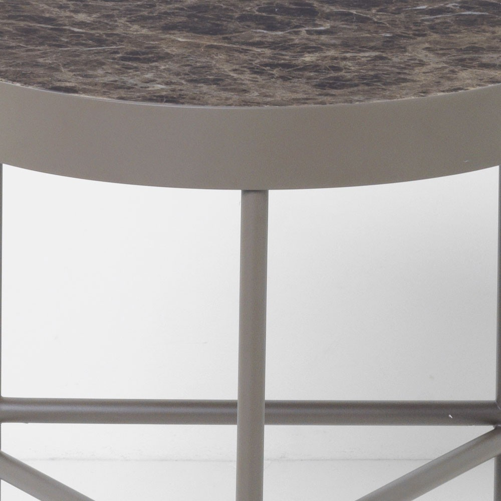 Table basse Marble brun M Ferm Living