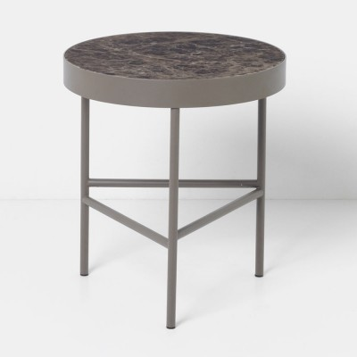 Marble coffee table brown M Ferm Living Ferm Living