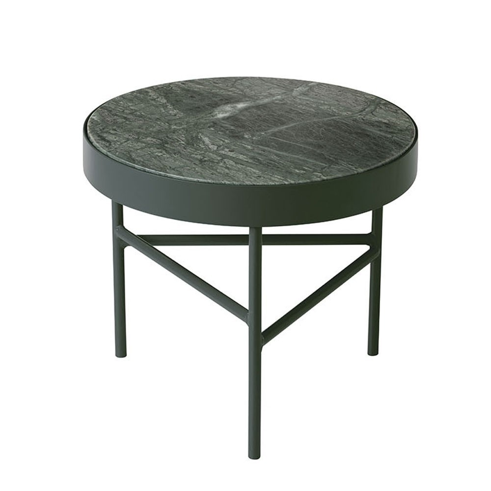 Marble coffee table green S Ferm Living