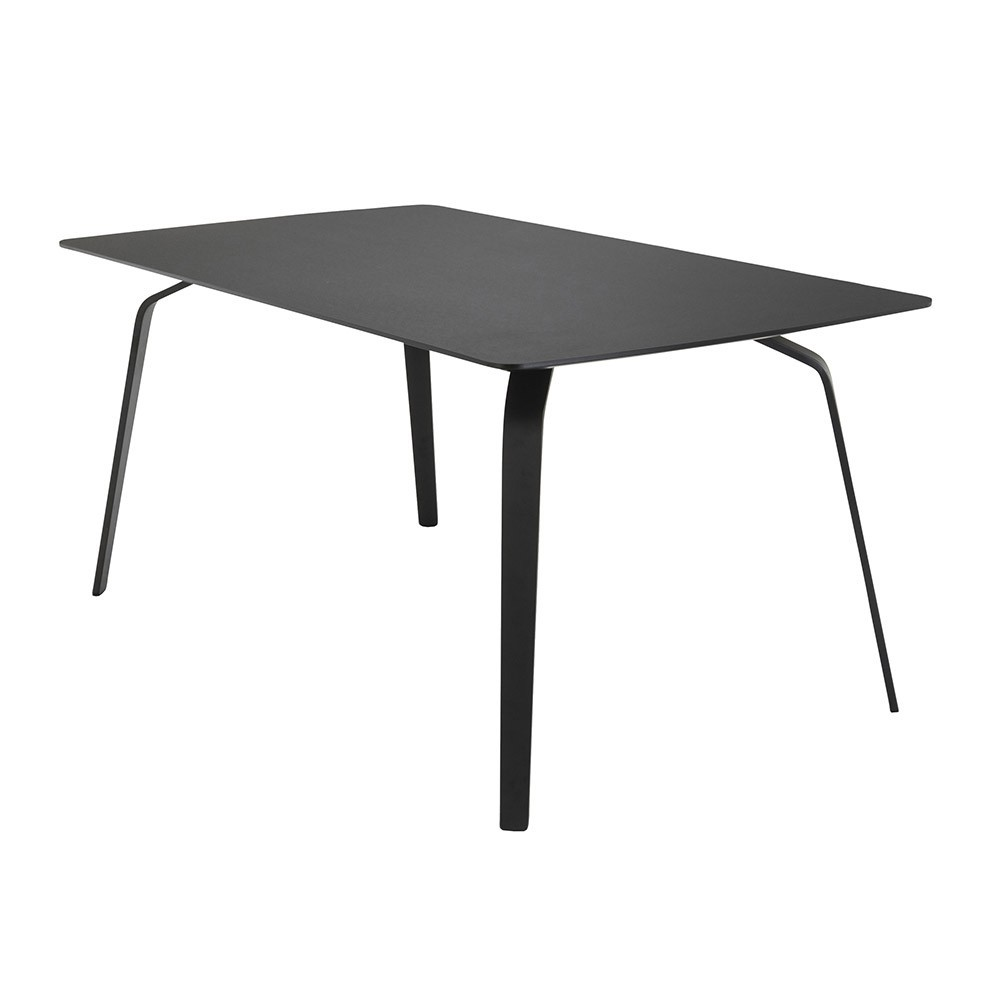Float dining table black Houe