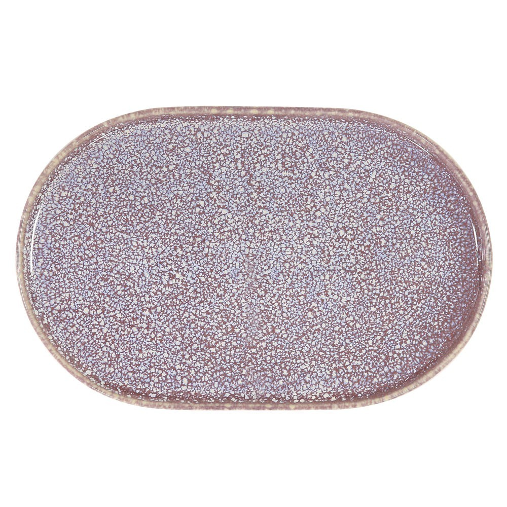 Gallery oval side plate lilac HKliving