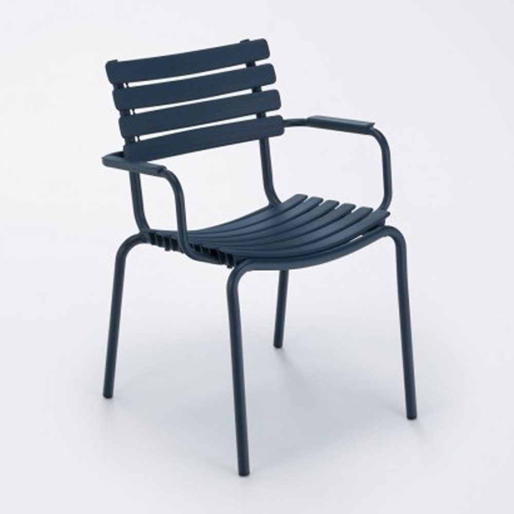 Chaise Clips bleu nuit Houe