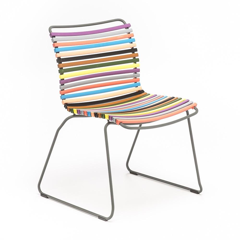 Meerkleurige Click stoel 1 Houe