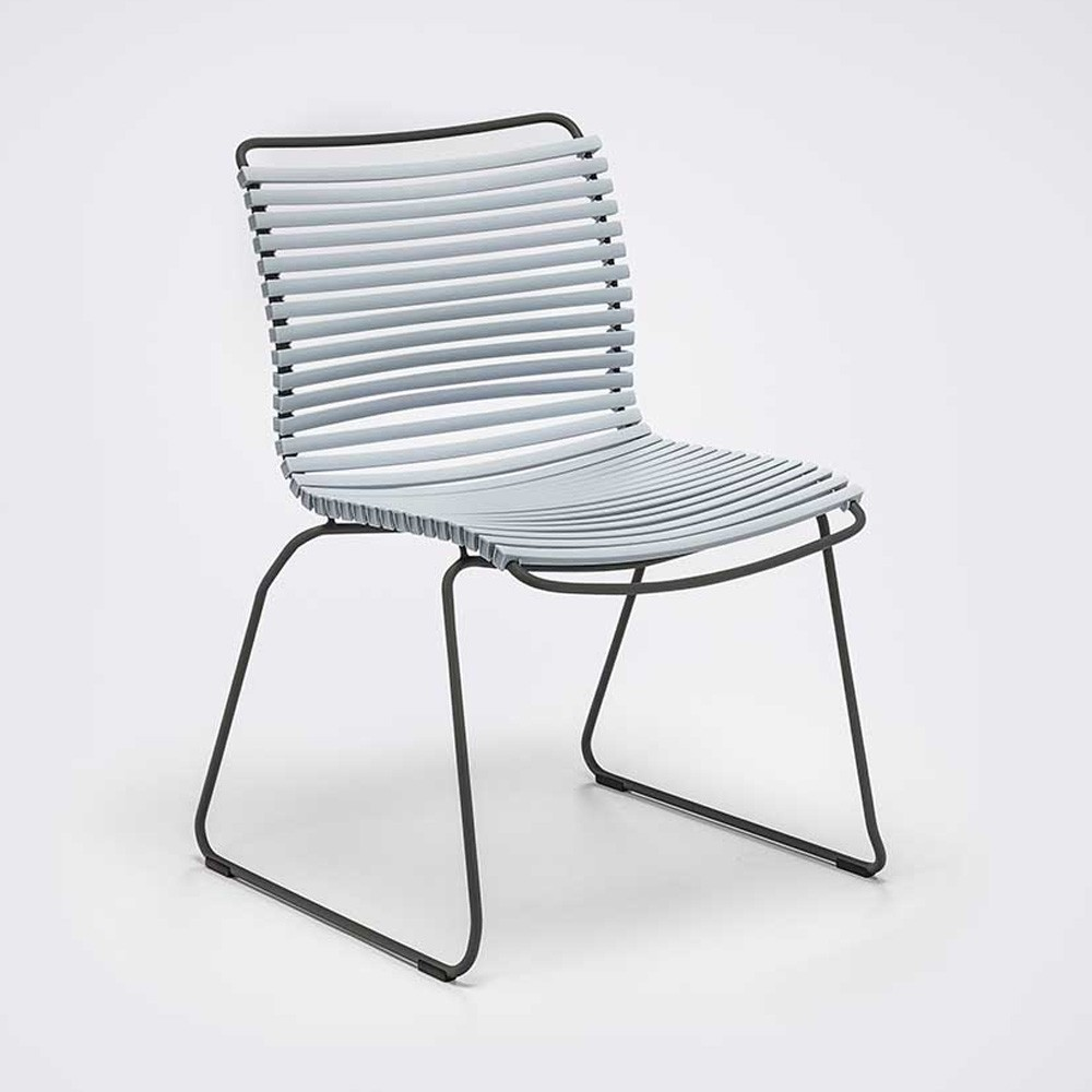 Click chair dusty light blue Houe