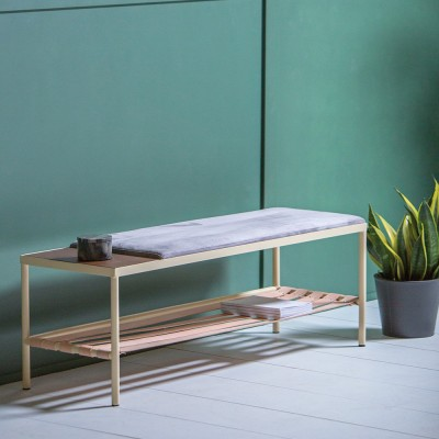 BDC cream bench Kann Design