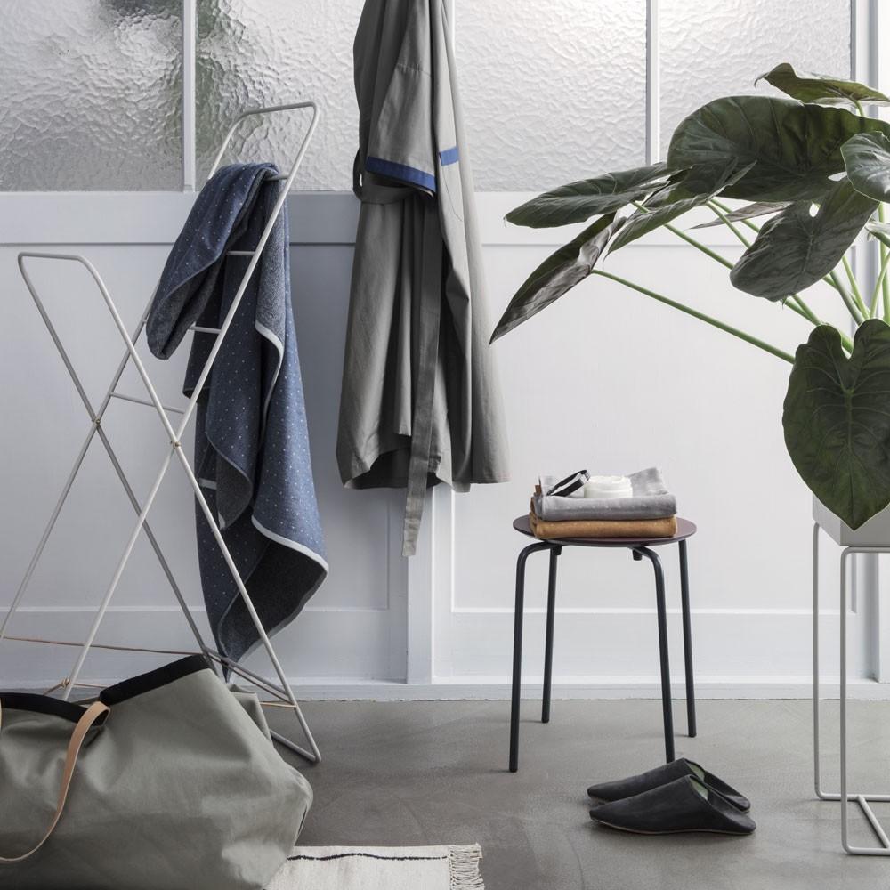 Herman stool dusty blue Ferm Living