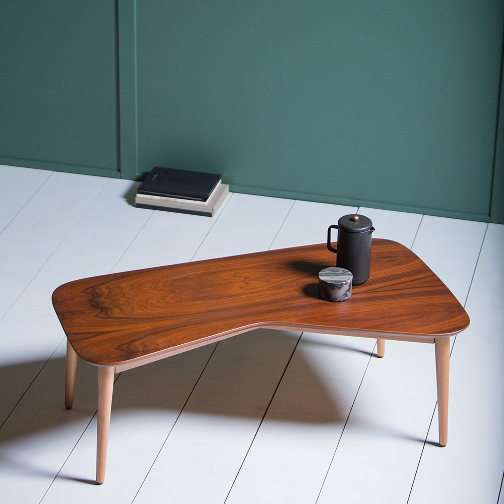 VY rosewood coffee table Kann Design