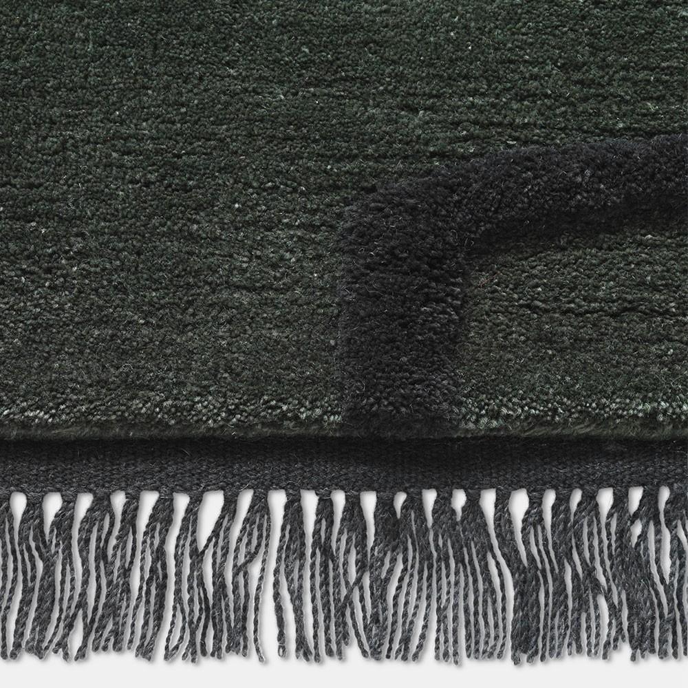 Desert Tufted rug dark green Ferm Living