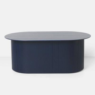 Podia coffee table dark blue Ferm Living