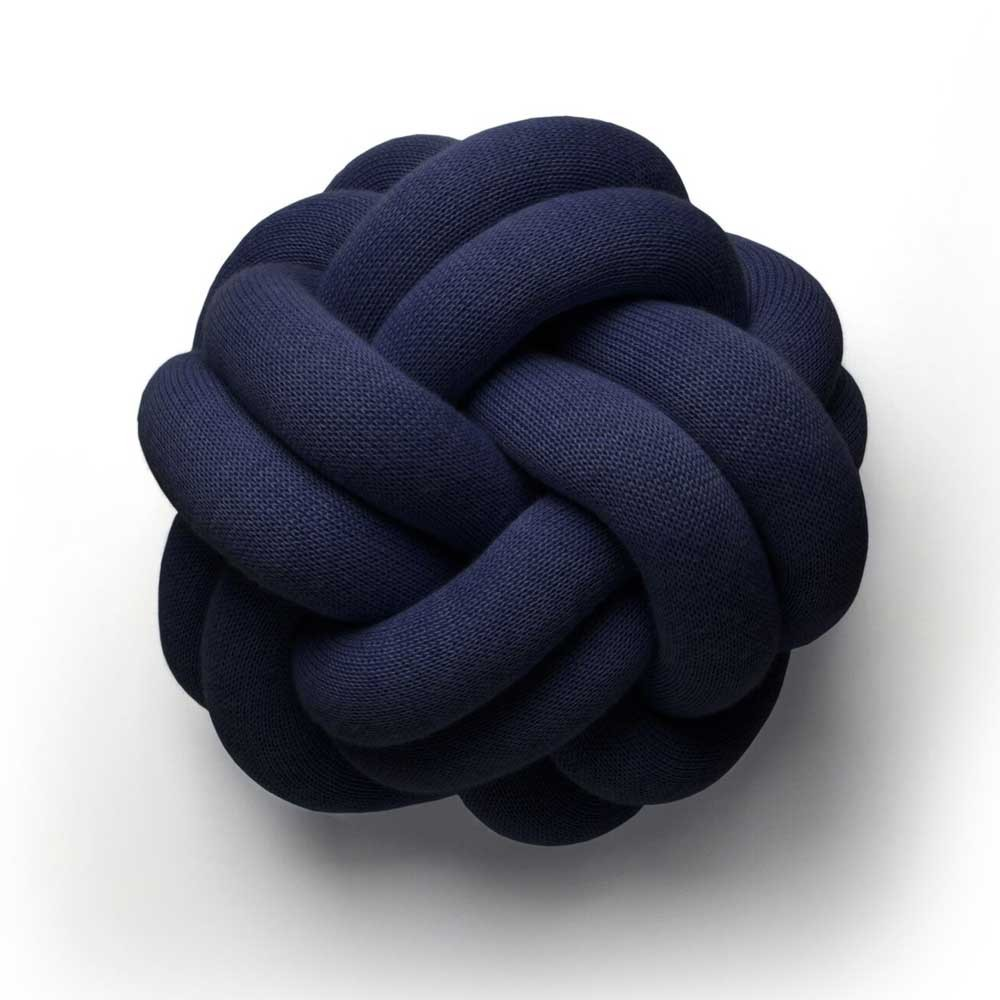 Knot navy kussen Design House Stockholm