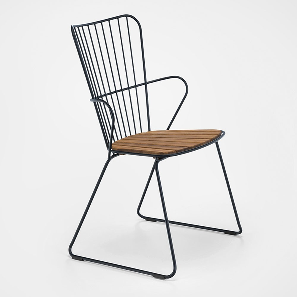 Paon dining chair black Houe