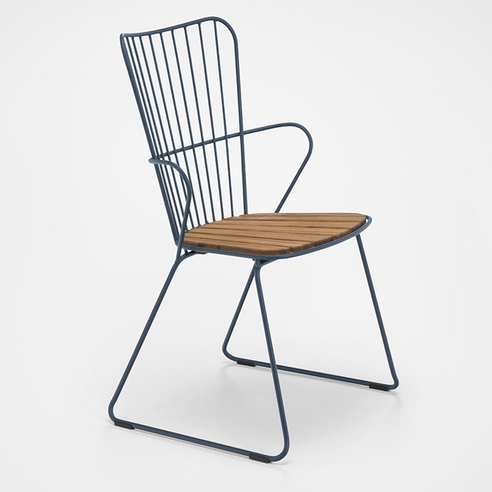 Paon dining chair midnight blue Houe