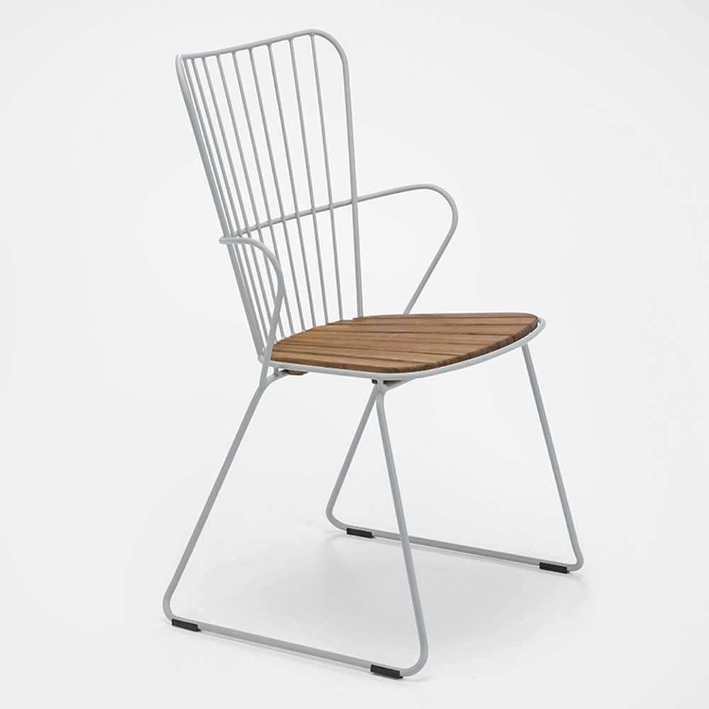 Paon dining chair taupe Houe