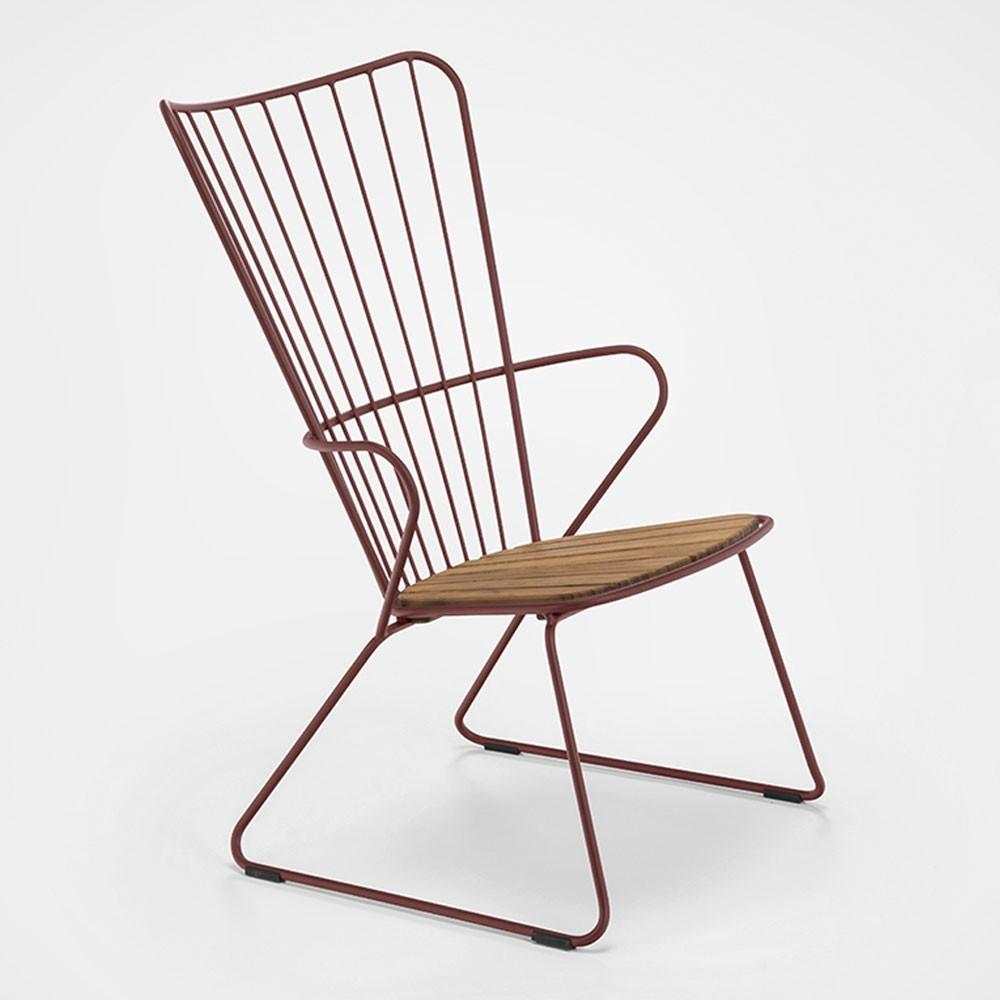 Paon paprika fauteuil Houe