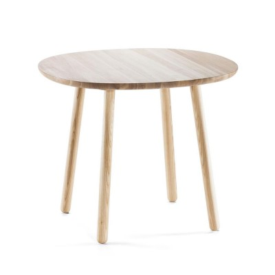 Naïve dining table natural ash Ø90cm Emko Emko