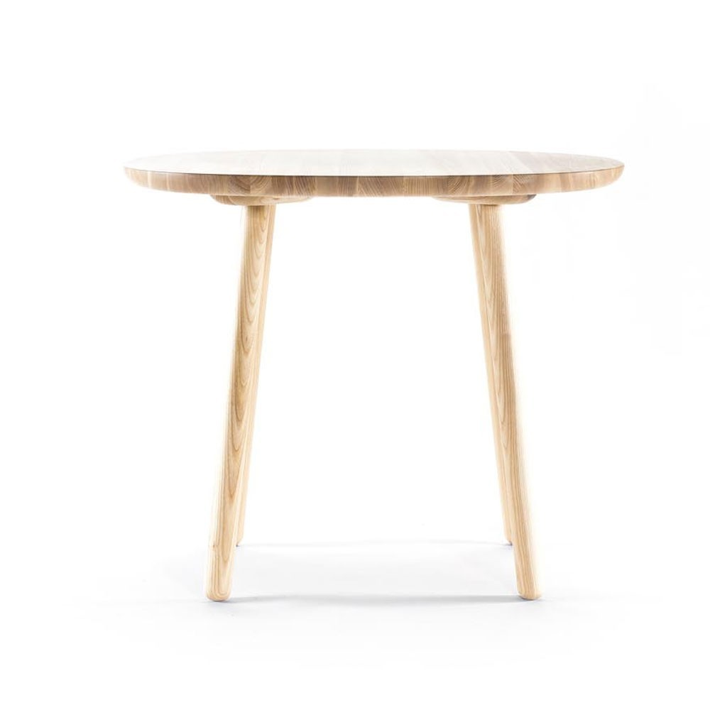 Naïve dining table natural ash Ø90cm Emko