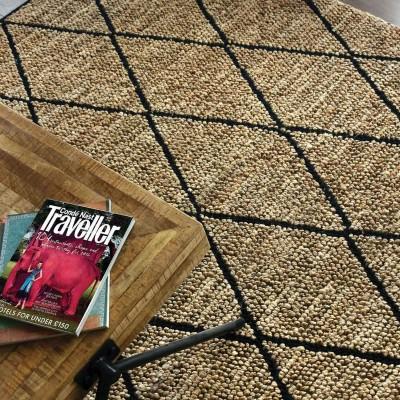 Larson charcoal rug
