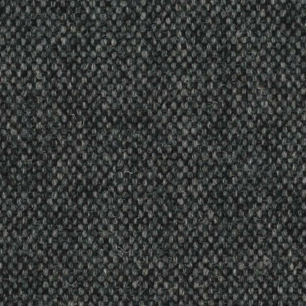 366 Metalen fauteuil van grijze en zwarte wol 366 Concept