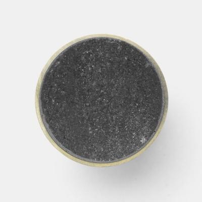 Stenen haak Zwart marmer L