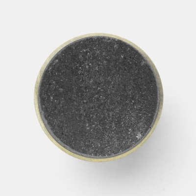 Stone hook marble black L Ferm Living