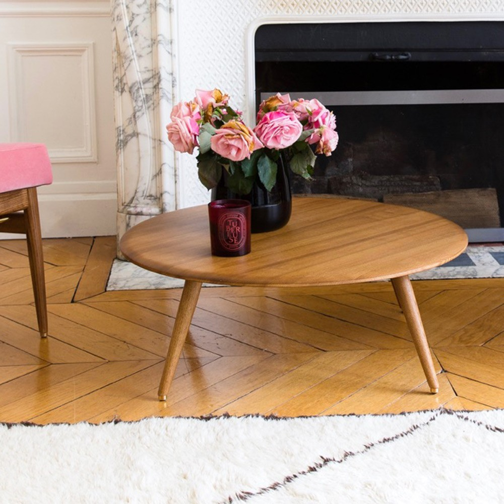 Round coffee table Fox L 366 Concept