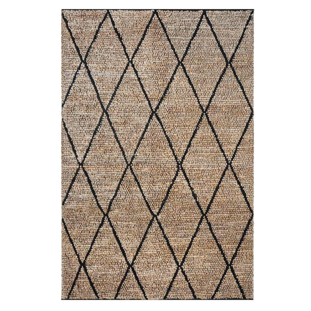 Larson charcoal rug The Rug Republic