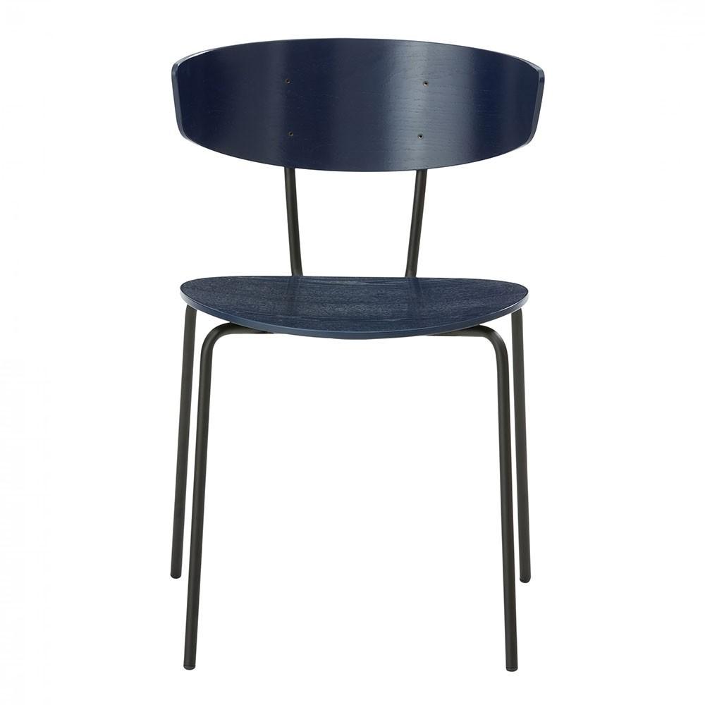Herman chair dark blue Ferm Living
