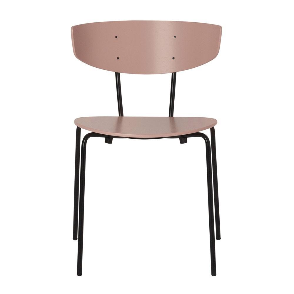 Herman stoel roze Ferm Living