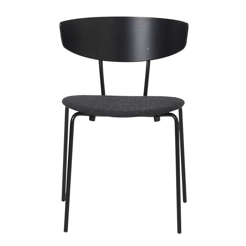 Herman chair black & dark grey Ferm Living